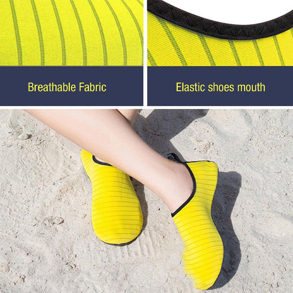VCANFASHION beach swim women men diving water walking aqua shoes water proof shoe outdoor mens water shoes men
