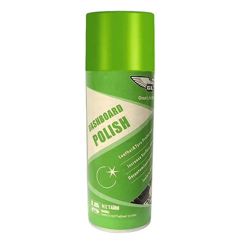 GL car dashboard shine spray/dashboard cleaner
