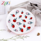 Porcelain High Quality Cheap Porcelain Plate Irregular Color Glazed Plate Gift Porcelain Plates