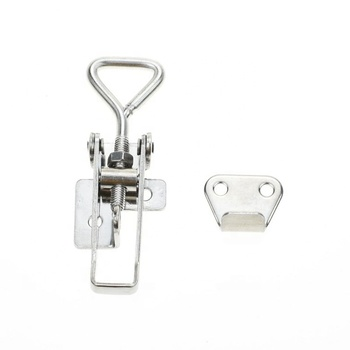 Yh9882 Wholesale Stainless Steel Hasp Toggle Latch Lock Clasp Lock Marine Grade Stainless Steel Adjustable Latch