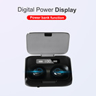 Phone TWS In Ear Earphone 2500 MAh Headphone Air Buds Bluetooth Ear Buds With Phone Charger Function Earphone
