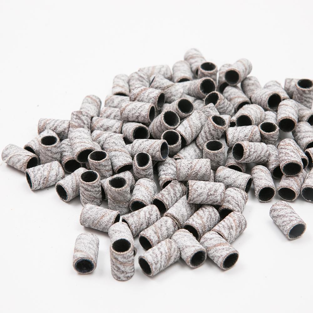 Профессиональная шлифовальная лента Zebra с зернистостью среднего размера, черные шлифовальные ленты для сверл для ногтей