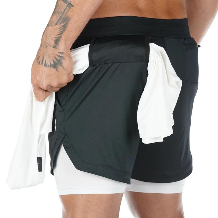 2020 Fitness Jogging Workout Shorts Camo Running Shorts Men 2 In 1 Double Deck Quick Dry Gym Sport Men Sports Short Pants Buy Paisley Print Pants Beach Towel Pants Pattern Mens Cotton Beach Pants
