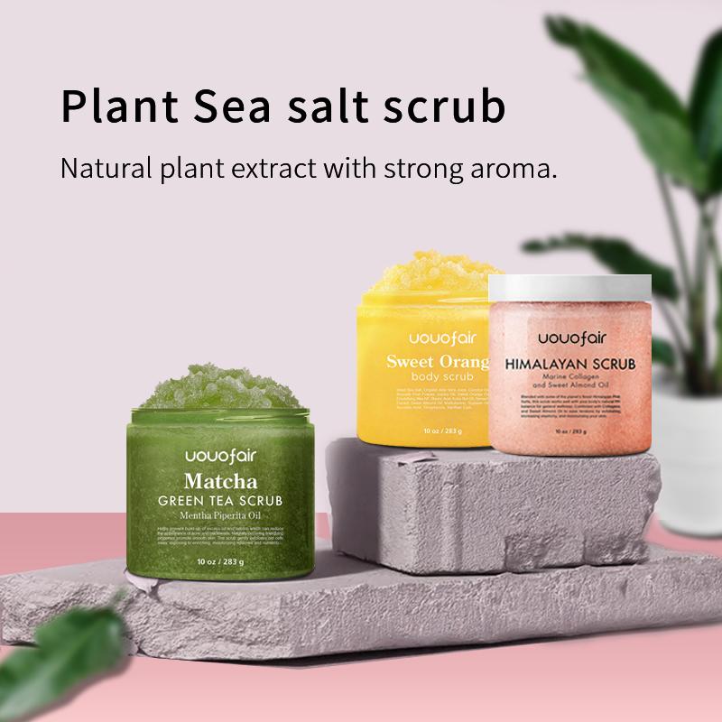 Private Label OEM best 100% natural exfoliating whitening organic coffee Dead Sea salt body scrub