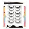 New invisible magnet eyelashes 6Pairs