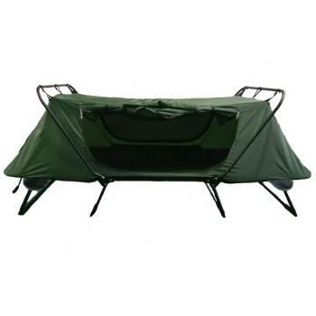 1-Person Folding Tent Cot Waterproof Oxford Portable Sleeping Bed Outdoor Camping Hiking Tent