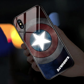 led light flash light up phone case For iphone 12 pro 11 XR XS Max 8 7 Plus