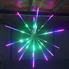 5 renk havai fişek ışık