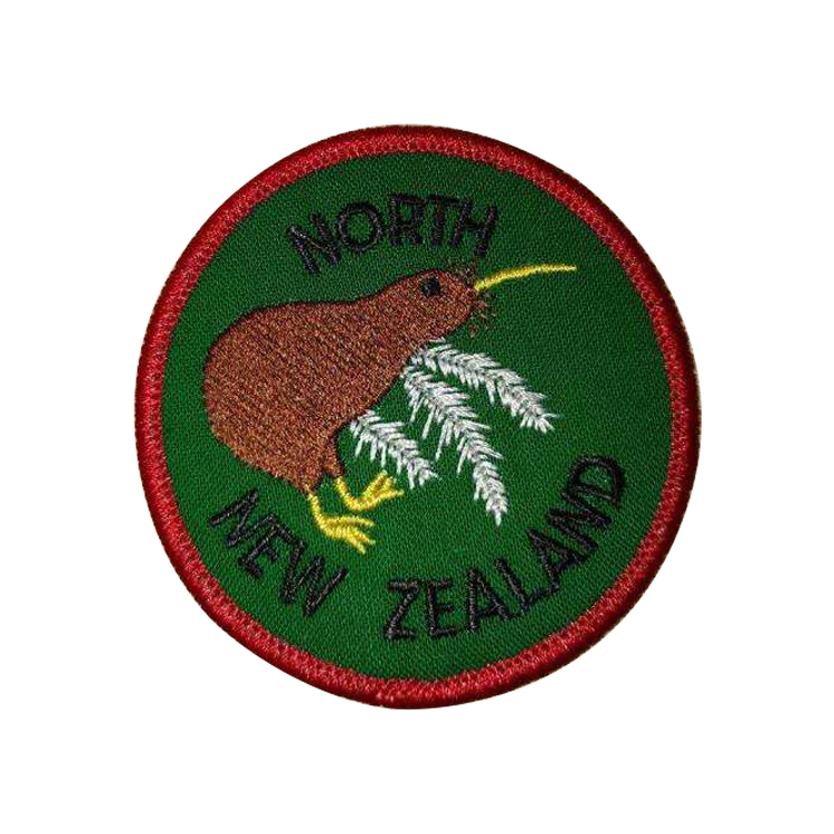 High Quality Embroidered Custom Embroidery Patch and Woven Iron On Patches For Clothing