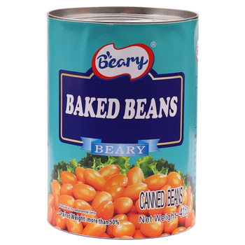 Hot sale 415g Canned Baked Beans in Ketchup Tomato Beans in tomato sauce