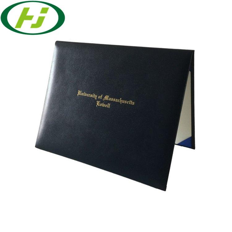 Graduation Certificate Holder A4 Leather Diploma/ Certificates Holder Graduation Folder
