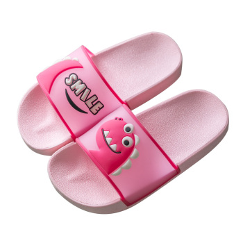 2020 new children's slippers cute baby dinosaur slippers home boys and girls sandals bathroom children's slippers