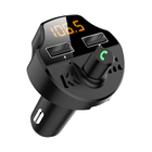 Fm Modulator Factory Cheap Price Dual USB Port FM Modulator Handsfree MP3 Player T66 Car Kit FM Transmitter