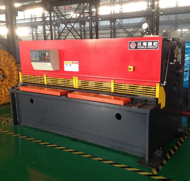 Amazing Quality QC12Y-6x2500 Metal Hydraulic Swing Beam Shear