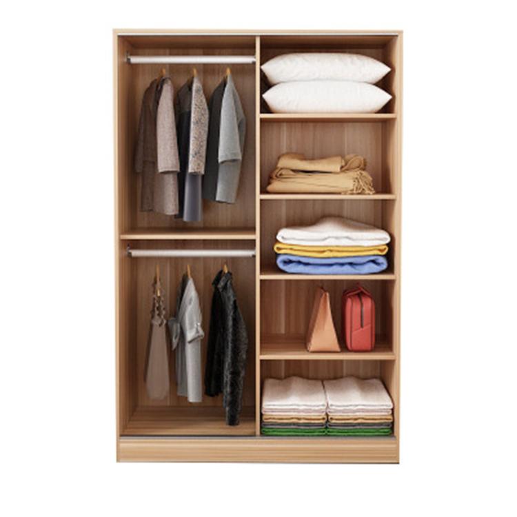 2021 Modern Cheap Wooden China Bedroom Furniture Design Wardrobe