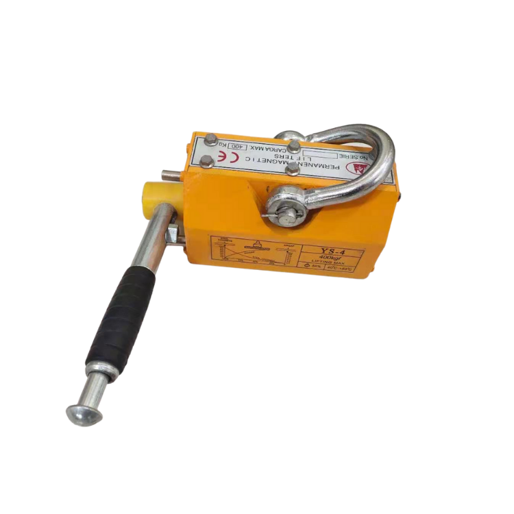 Ready stock 200kg lifting magnet permanent electro magnet lifting force 30 kg