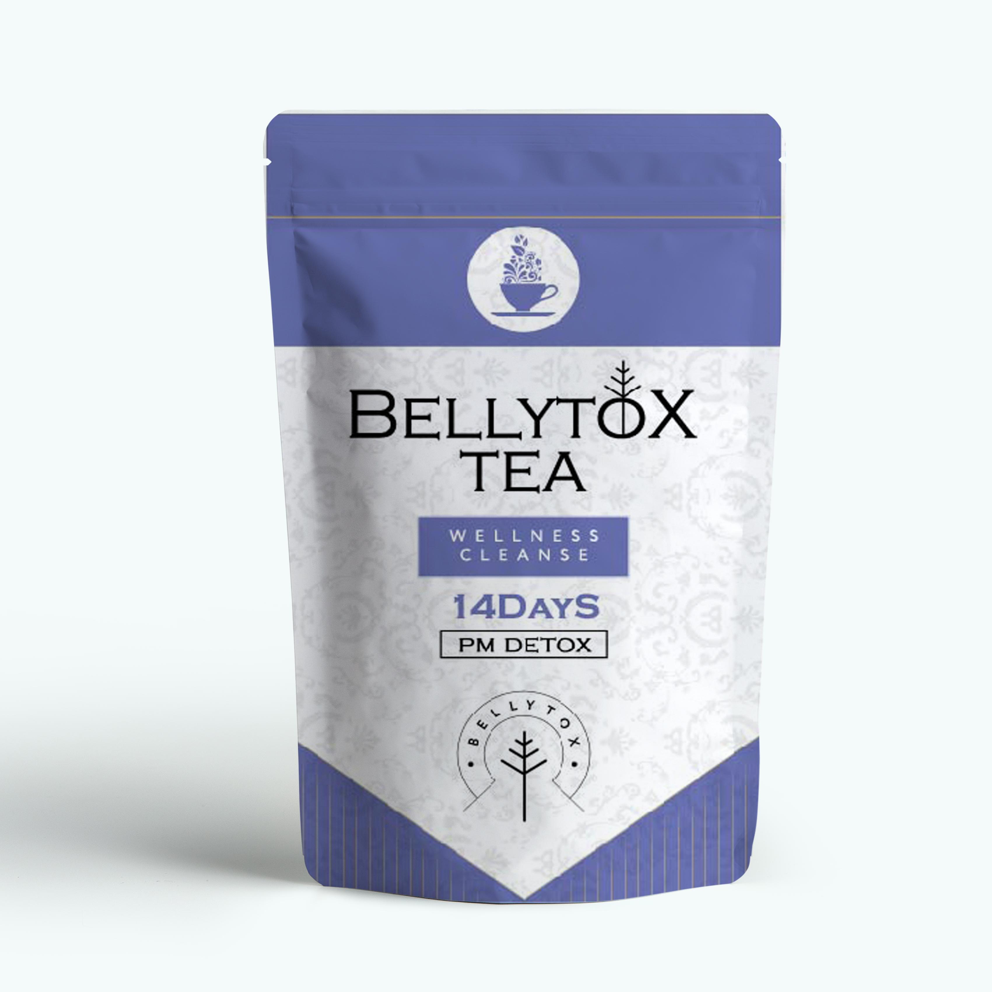 Detox Tea Herbal Tea For Immune Support (USDA Certified Organic/Fair Trade/Caffeine-Free), Blueberry Tea, 28 Count - 4uTea   4uTea.com