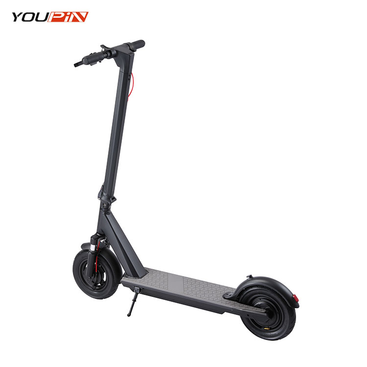 New Design Fast Speed IP54 Adult 350w 36v Long Range Electric Scooter Foldable For Sale