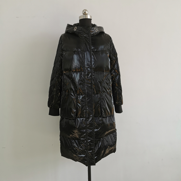 China factory oem service women clothing lightweight down jacket slim fit