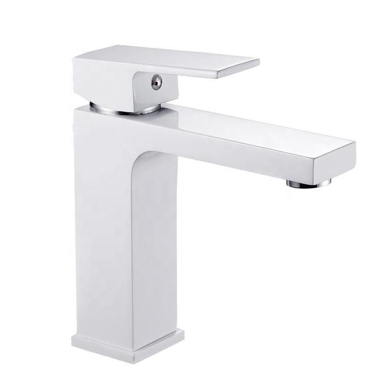B0013-F современный коммерческий латунный Смеситель для ванной комнаты, смеситель для раковины с одной ручкой