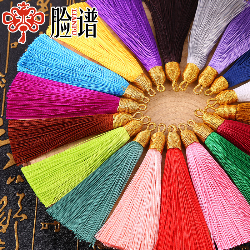 Wholesale 8cm Silk tassels For Jewelry Free Sample 1000 Colors To Choose