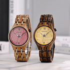 Timepiece 2021 Men Watches BOBO BIRD 2021 Couples Wooden Watch New Natural Wood Women Wristwatch Casual Men Timepiece Reloj Hombre With Custom Logo