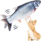 Equipment For Stuffing Of A Soft Toy Fish Chew Interactive Plush Pet Toys Smart Electronic Cat 90%Deals Educational