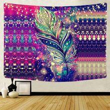 Гобелен с изображением Галактики, настенный декоративный Таро, мандала, гобелены, лесные деревья, Настенный Ковер, домашняя декоративная тк...(Китай)