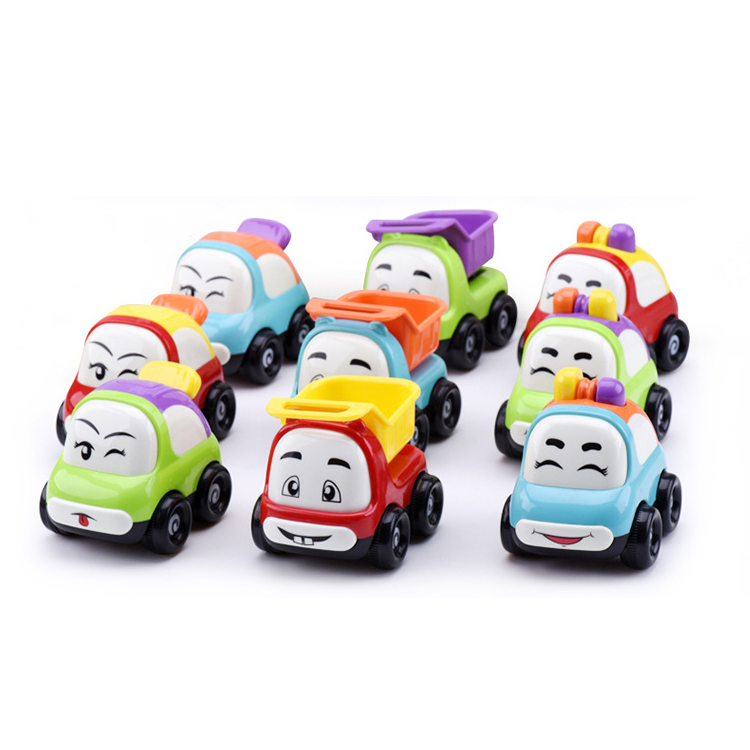 New model cute police fall resistant inertia truck vehicle for kids car toys small