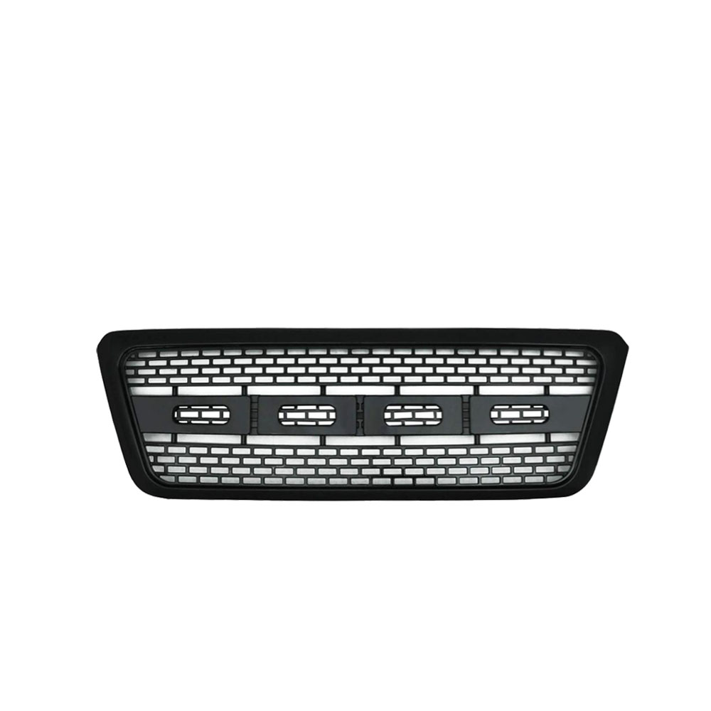 High Quality F150 04-08 rapt or type gloss black grille auto front grill