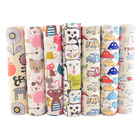 Factory supply 100% cotton fabric fat quarter bundles tissue cover bag cotton printed fabric for mask sewing