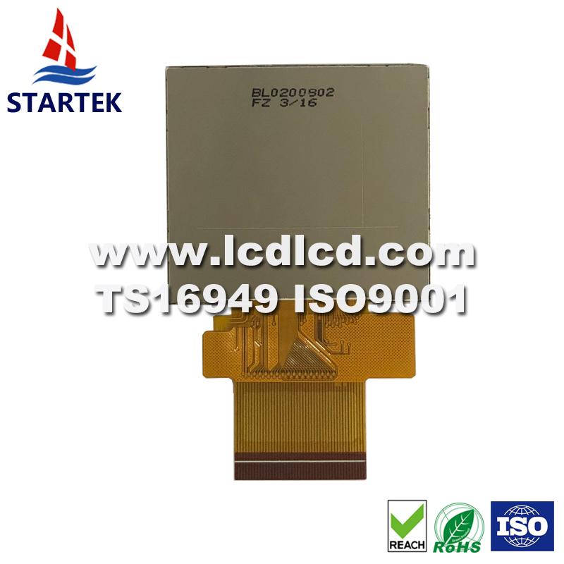 2.0 inch screen  320*240, ILI9342C, 8 /9/16/18 bit MCU SPI+RGB SPI interface ips TFT panel LCD display module