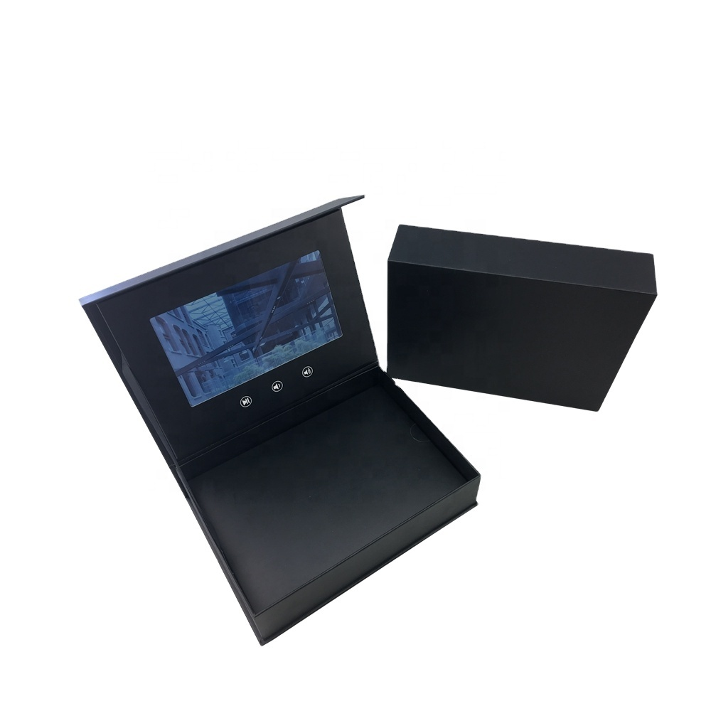 Cote 7inch HD LCD Screen Video Greeting Card Packing Box for Gifts/Products Presentation