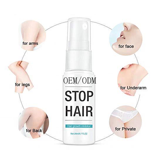 Фирменный спрей для удаления волос для интимного лица, ног, тела, подмышек
