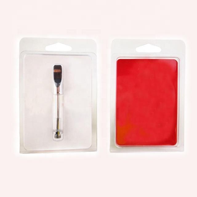 wholesale customized Plastic Clam Shell Blister Packing for1ml Vape Oil Cartridges Vapor Packaging Cart Packaging - MrVaper.net