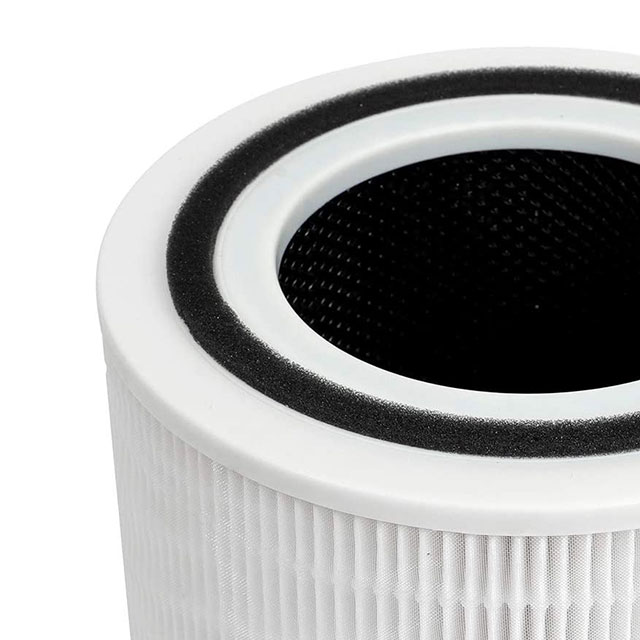 Amazon good sale Levoit 300 room air purifier replace hepa with activated carbon filter
