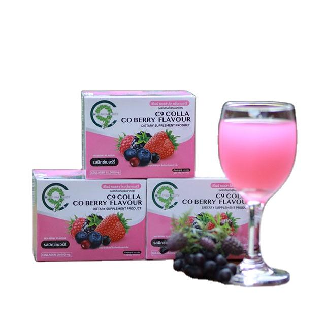 wholesale Thailand C9 Collagen Instant powder Anti-aging Collagen power in Anti-Aging Colla berry Collagen Instant powder