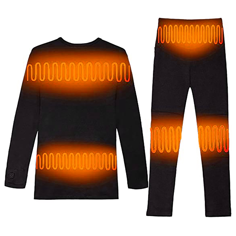 Super Cozy battery heated 3 level adjusting Long heated women underwear
