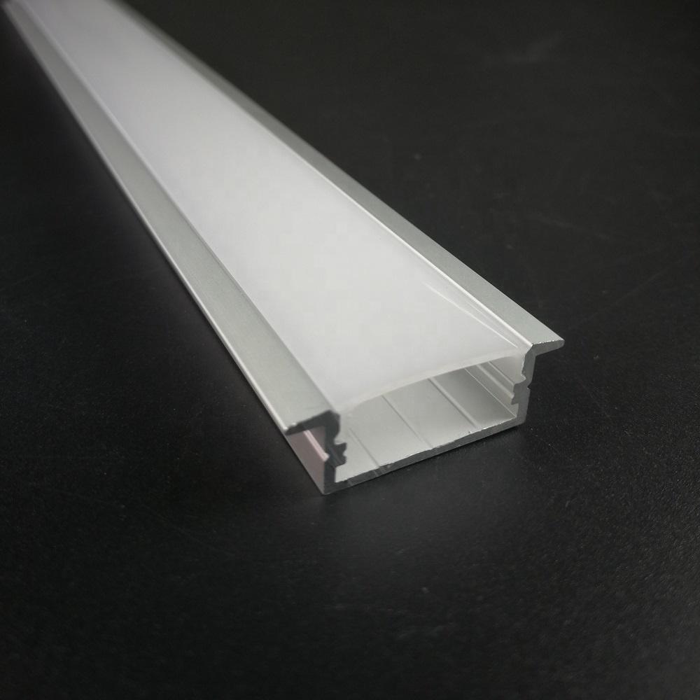 Заводская цена, алюминиевые светодиодные профили для встраиваемого потолочного светильника