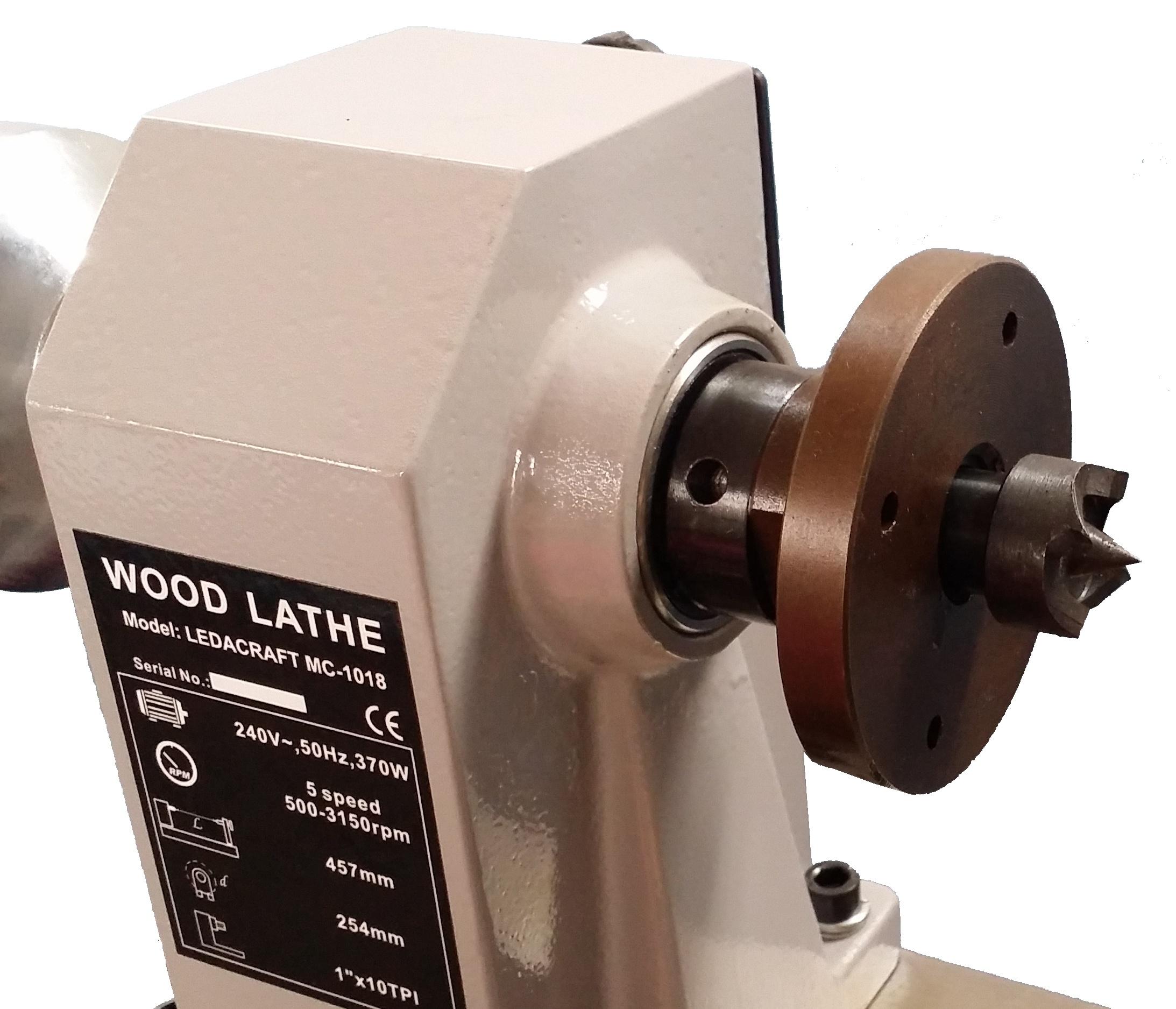 Токарный станок MC1218 с 5 скоростями для обработки древесины WL1218