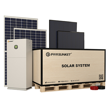SUNKET top point solar panel Solar Power Station Green Energy 5kw Solar Power System Solar all-in-one machine Home use