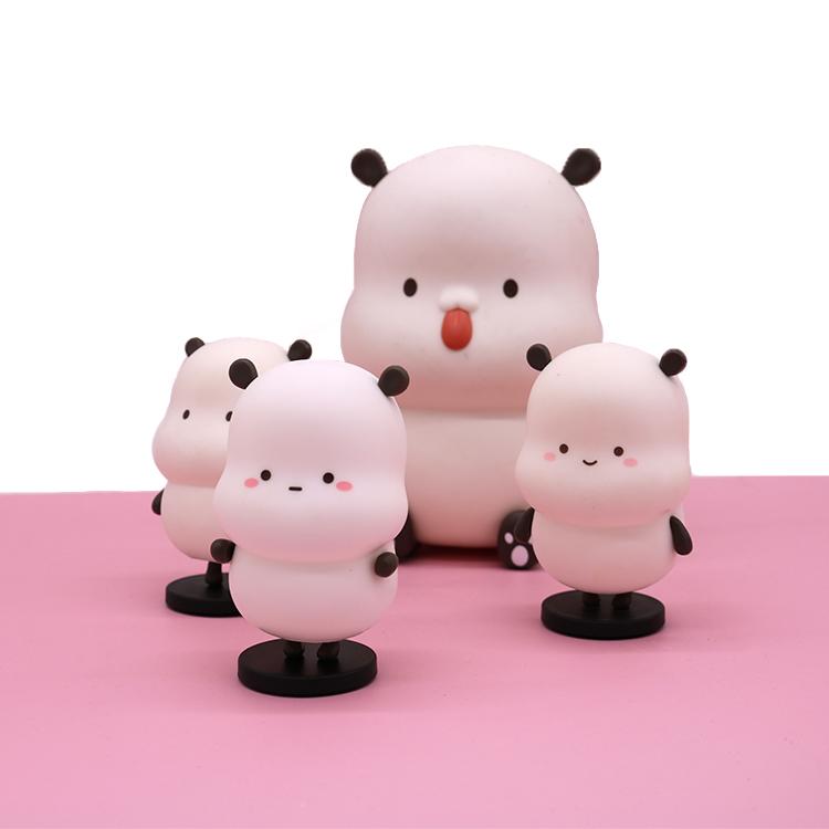 Изготовленные на заказ рождественские ПВХ Фигурки игрушки, виниловые фигурки игрушки