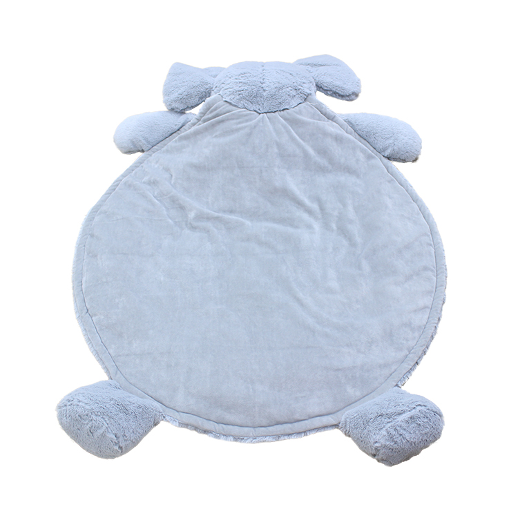 Wholesale kids baby game play mat baby bedroom decoration game blankets solid color crawling mats