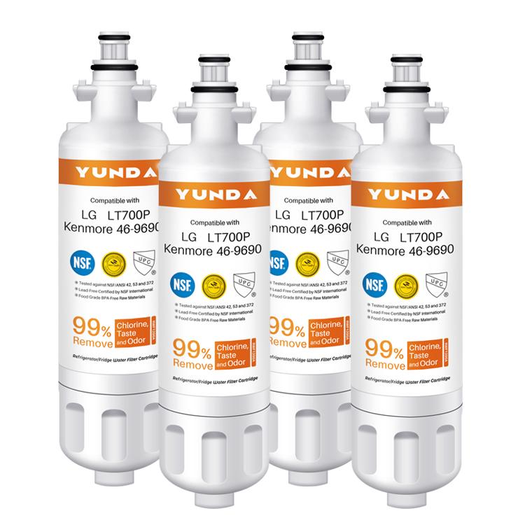 OEM Replacement for LFX31945ST, LFX31925ST, LFX30766S, LFXC24726, LFXS24623, LSFXC2476S,  refrigerator water filter nsf