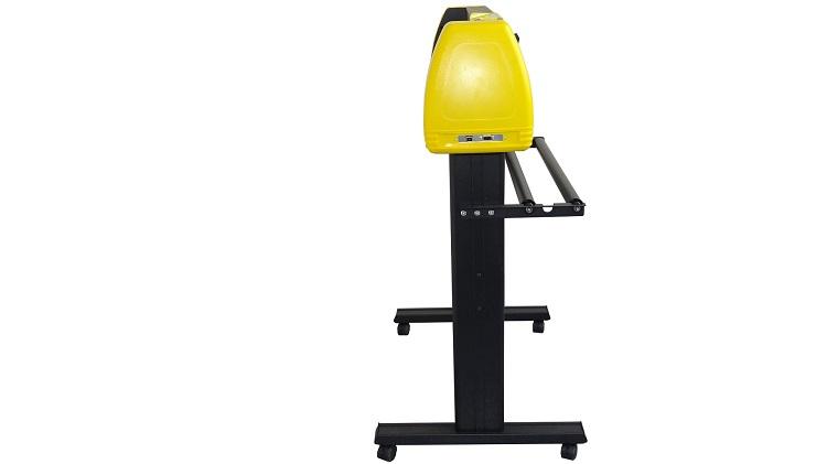 Режущий плоттер, 24 дюйма, 720 мм, новый дизайн, черный и желтый, OEM