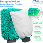 Cleaning Microfib Cleaning Cloth Custom Best Microfiber Cleaning Cloths Pack Of 50 Towels Wash Cloth Green Thick Synthetic Microfiber Handy Waterproof Cloth