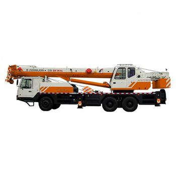 ZOOMLION 55 ton Small Truck Hydraulic Lift Crane 10 Ton Knuckle Boom Truck Mounted Crane Pick Up Truck Mounted Crane ZTC551V