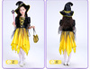 Gold Witch 4 pieces set