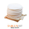 12pcs withe with 1 mesh bag