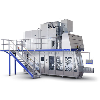 Economical and practical used Tetra Pak A3/Flex filling machine for milk and juice beverage packing